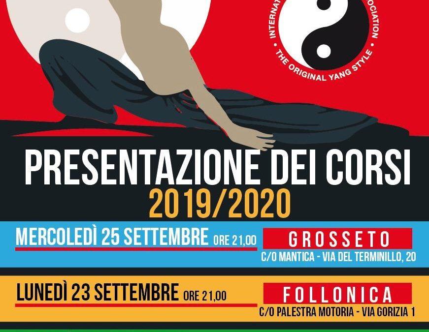 Presentazione corsi 2019/2020